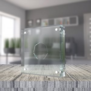Perspex/Acrylic Coin Display Cases