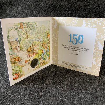 Beatrix Potter Coin Covers