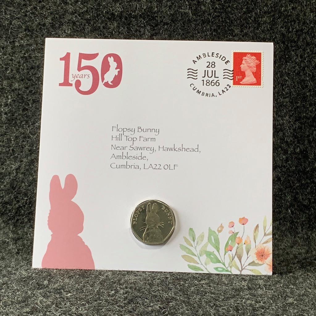 Beatrix Potter Coin Collection 2018 Flopsy Bunny 50p Coin