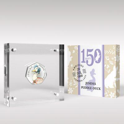 Coins in Perspex Displays
